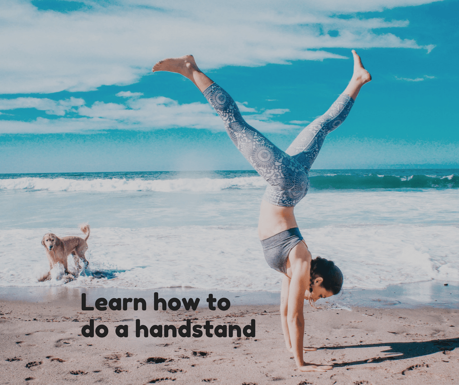 Learn how to do a handstand