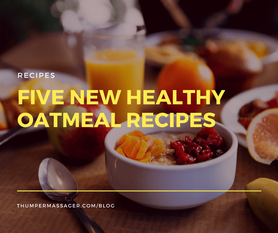 Five new healthy oatmeal recipes