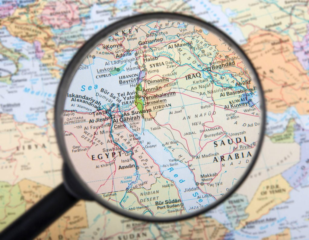 Middle East Map Quiz - Thumper Massager