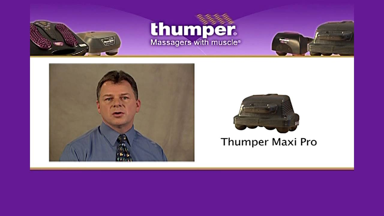 Healthcare Professional Review of the Thumper Maxi Pro